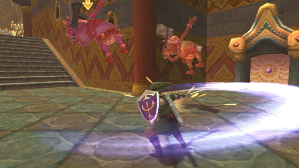 skyward sword combat